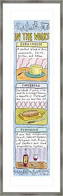 In The Works: Framed Print by Roz Chast