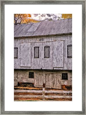 In The Year 1891 Framed Print by Lois Bryan
