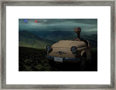 In The Year 2525 Framed Print by Tim McCullough