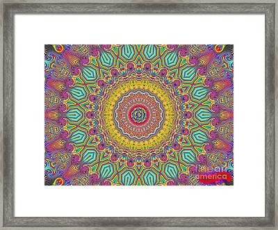 In The Zone Framed Print by Bobby Hammerstone