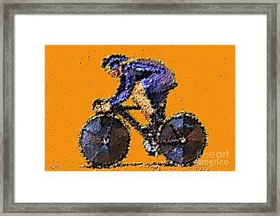 In The Zone Framed Print by Sergio B