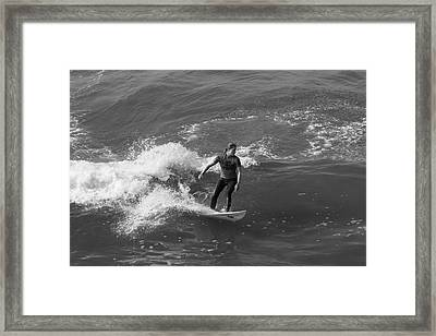 In The Zone  Framed Print by Tom Kelly