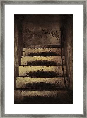 In Their Footsteps Framed Print by Odd Jeppesen