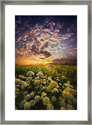 In This Moment We Are Infinite Framed Print