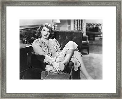 In This Our Life, Bette Davis, 1942 Framed Print by Everett