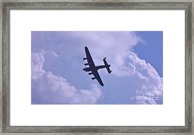 In To The Clouds Framed Print