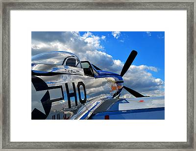 In To The Wild Blue Framed Print