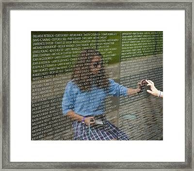 In Touch With The Past Framed Print by Christi Kraft