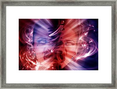 In Two Minds Framed Print