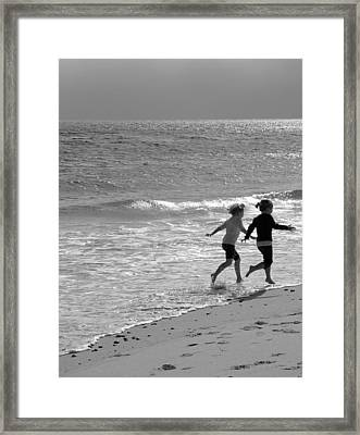 In Unison  Framed Print by Brooke T Ryan