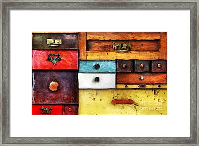 In Utter Secrecy Framed Print by Michal Boubin