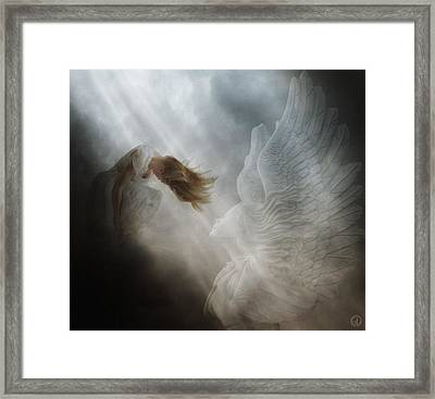 In Vain Framed Print by Gun Legler