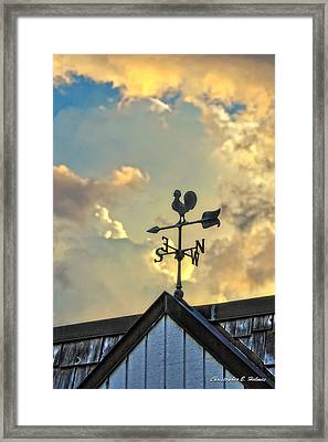 In Vane Framed Print by Christopher Holmes