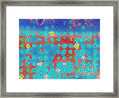In View Of The Fields Framed Print