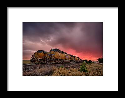 Pacific Framed Prints