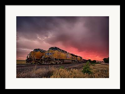 Iron Horse Framed Prints