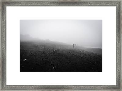 In Wind And Cloud Framed Print