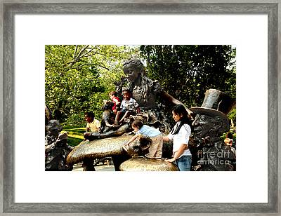 In Wonderland Framed Print
