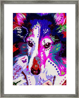 In Your Eyes Framed Print by Colleen Kammerer