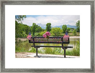 In Your Honor Framed Print
