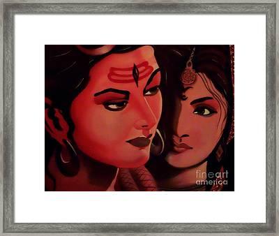 In Your Light Framed Print by Meenakshi Malhotra