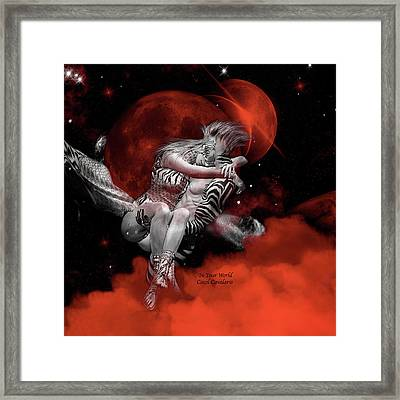 In Your World Framed Print