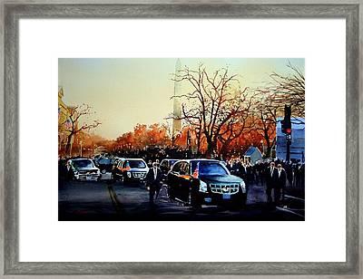 Inaugural Framed Print by Ron Bigony