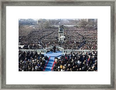 Inauguration Framed Print