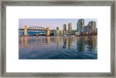 Inbound Sea Bus Framed Print by James Wheeler