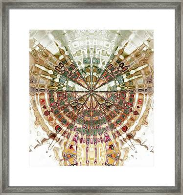 Incan Abstraction Framed Print by Amanda Moore