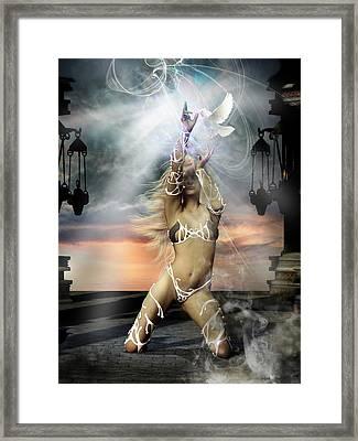 Incantata Framed Print by Shanina Conway