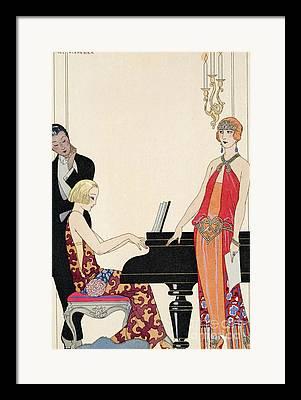 Formal Piano Framed Prints