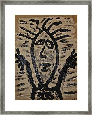 Incantation Framed Print by Mario Perron