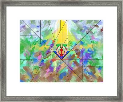 Incarnation Framed Print by Aviel Jiyu