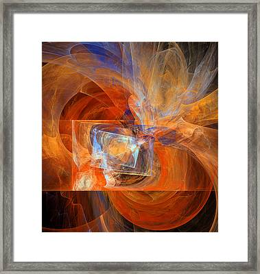 Incendiary Ammunition Abstract Framed Print