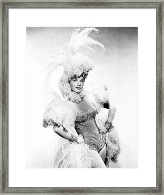 Incendiary Blonde, Betty Hutton, 1945 Framed Print