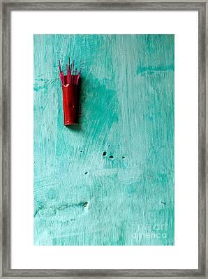 Incense 04 Framed Print