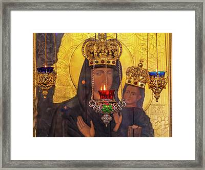 Incense Burners Saint Nicholas Church Framed Print