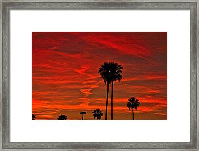 Incense Framed Print by Marquis Crumpton