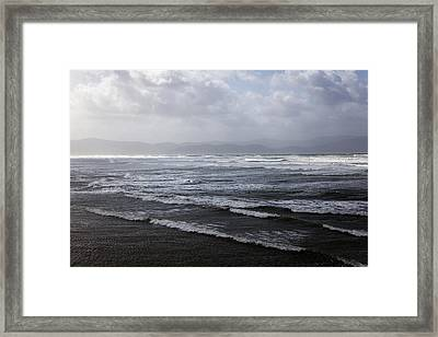 Inch Strand County Kerry Framed Print