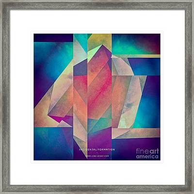 Incidental Formation Framed Print by Lonnie Christopher