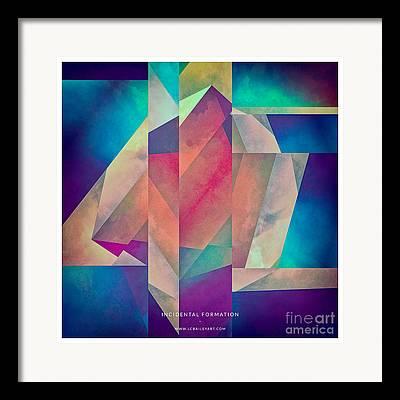 Ellipse Framed Prints
