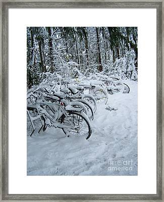 Inclement Weather Framed Print by KD Johnson