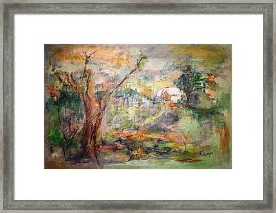 Incognito Framed Print by Mary Spyridon Thompson