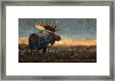 Incoming Framed Print by Aaron Blaise