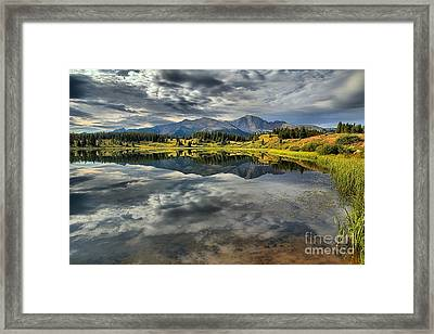 Incoming Monsoon Framed Print by Adam Jewell
