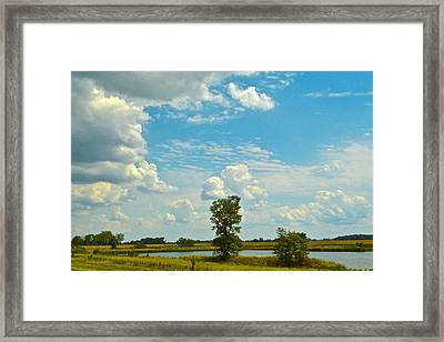 Incoming Framed Print by Frozen in Time Fine Art Photography