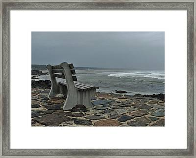 Incoming Tide Framed Print