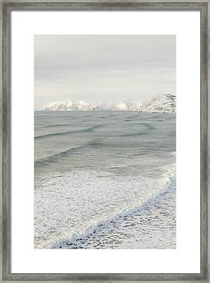 Incoming Waves Framed Print by Tim Grams