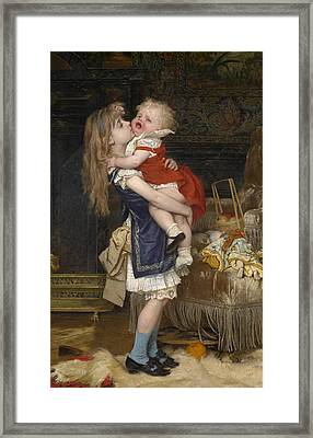Inconsolable Framed Print by Jan Verhas